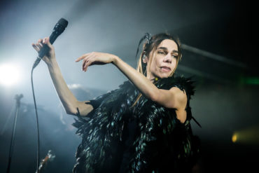 PJ Harvey live at the Metropolis in Montreal, Canada.
